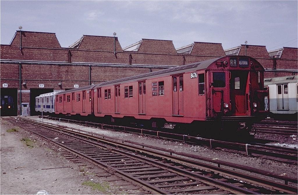 (267k, 1024x670)<br><b>Country:</b> United States<br><b>City:</b> New York<br><b>System:</b> New York City Transit<br><b>Location:</b> Coney Island Yard<br><b>Car:</b> R-30 (St. Louis, 1961) 8476 <br><b>Photo by:</b> Steve Zabel<br><b>Collection of:</b> Joe Testagrose<br><b>Date:</b> 6/7/1971<br><b>Viewed (this week/total):</b> 0 / 1844
