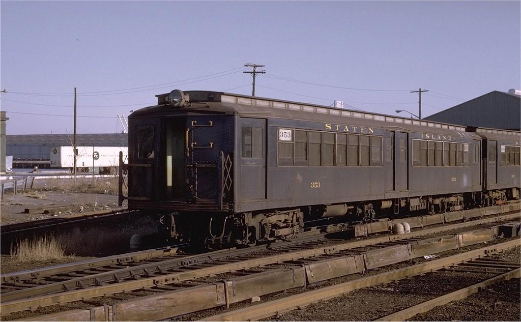 (183k, 1024x633)<br><b>Country:</b> United States<br><b>City:</b> New York<br><b>System:</b> New York City Transit<br><b>Line:</b> SIRT<br><b>Location:</b> Clifton <br><b>Car:</b> SIRT ME-1 (Motor) 353 <br><b>Photo by:</b> Joe Testagrose<br><b>Date:</b> 2/1/1970<br><b>Viewed (this week/total):</b> 0 / 3359