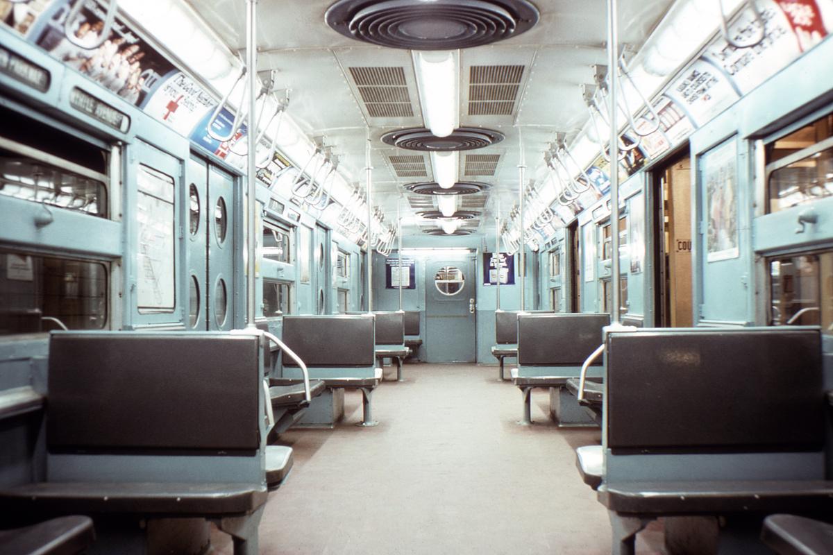 (336k, 1044x719)<br><b>Country:</b> United States<br><b>City:</b> New York<br><b>System:</b> New York City Transit<br><b>Location:</b> New York Transit Museum<br><b>Car:</b> R-11 (Budd, 1949) 8013 <br><b>Collection of:</b> David Pirmann<br><b>Viewed (this week/total):</b> 3 / 4823