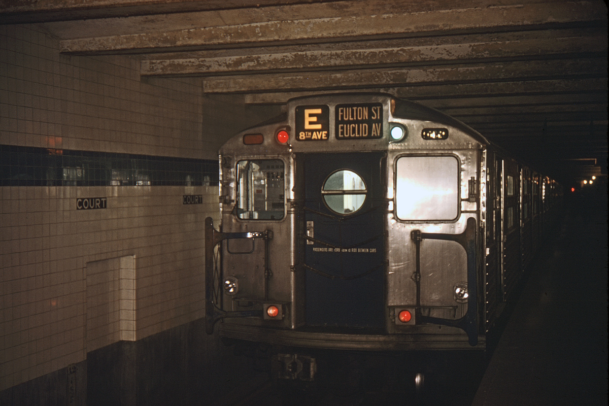(260k, 1024x683)<br><b>Country:</b> United States<br><b>City:</b> New York<br><b>System:</b> New York City Transit<br><b>Location:</b> New York Transit Museum<br><b>Car:</b> R-11 (Budd, 1949) 8013 <br><b>Collection of:</b> David Pirmann<br><b>Viewed (this week/total):</b> 6 / 5479