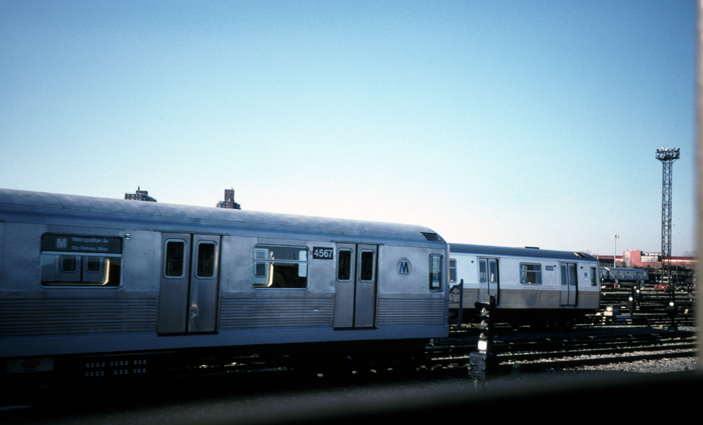 (154k, 1024x620)<br><b>Country:</b> United States<br><b>City:</b> New York<br><b>System:</b> New York City Transit<br><b>Location:</b> Coney Island Yard<br><b>Car:</b> R-42 (St. Louis, 1969-1970)  4567 <br><b>Photo by:</b> Chris Leverett<br><b>Date:</b> 12/8/1996<br><b>Viewed (this week/total):</b> 1 / 2285