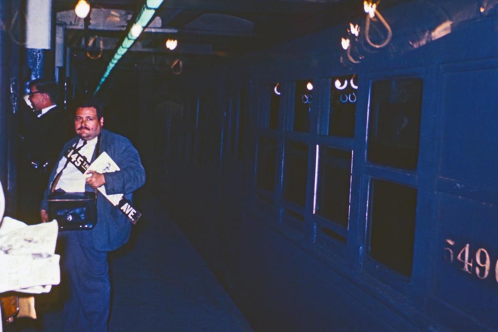 (266k, 1024x682)<br><b>Country:</b> United States<br><b>City:</b> New York<br><b>System:</b> New York City Transit<br><b>Route:</b> Fan Trip<br><b>Car:</b> Low-V 5496 <br><b>Collection of:</b> David Pirmann<br><b>Date:</b> 10/24/1964<br><b>Viewed (this week/total):</b> 0 / 2885