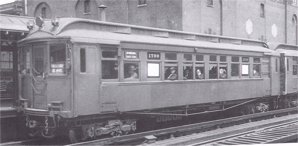 (135k, 1024x503)<br><b>Country:</b> United States<br><b>City:</b> New York<br><b>System:</b> New York City Transit<br><b>Line:</b> 2nd Avenue El<br><b>Location:</b> 92nd Street <br><b>Car:</b> MUDC 1799 <br><b>Photo by:</b> Kevin Farrell<br><b>Collection of:</b> Joe Testagrose<br><b>Viewed (this week/total):</b> 0 / 3675
