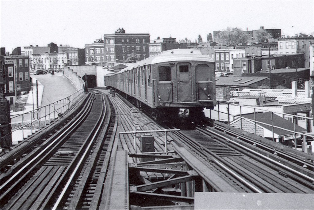 (230k, 1024x686)<br><b>Country:</b> United States<br><b>City:</b> New York<br><b>System:</b> New York City Transit<br><b>Line:</b> BMT Canarsie Line<br><b>Location:</b> Broadway Junction <br><b>Car:</b> BMT A/B-Type Standard 2164 <br><b>Photo by:</b> George Votava<br><b>Collection of:</b> Joe Testagrose<br><b>Date:</b> 5/1940<br><b>Viewed (this week/total):</b> 0 / 3136