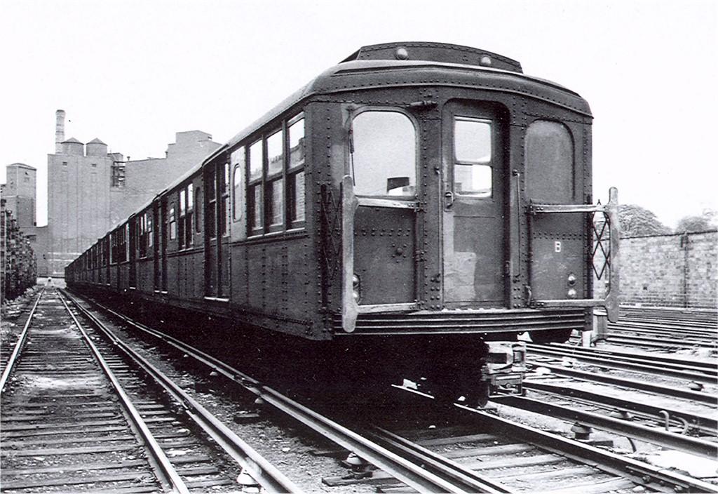 (231k, 1024x704)<br><b>Country:</b> United States<br><b>City:</b> New York<br><b>System:</b> New York City Transit<br><b>Location:</b> East New York Yard/Shops<br><b>Car:</b> BMT A/B-Type Standard 2342 <br><b>Photo by:</b> Don Harold<br><b>Collection of:</b> Joe Testagrose<br><b>Viewed (this week/total):</b> 3 / 1945