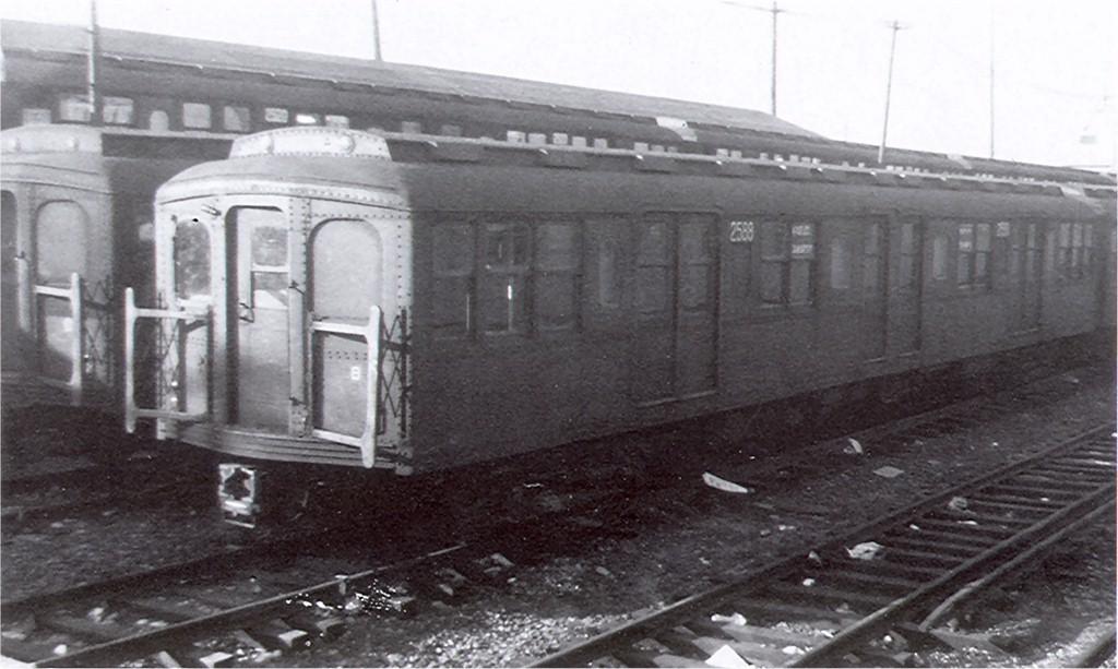 (152k, 1024x613)<br><b>Country:</b> United States<br><b>City:</b> New York<br><b>System:</b> New York City Transit<br><b>Location:</b> Rockaway Parkway (Canarsie) Yard<br><b>Car:</b> BMT A/B-Type Standard 2588 <br><b>Collection of:</b> Joe Testagrose<br><b>Viewed (this week/total):</b> 0 / 1921