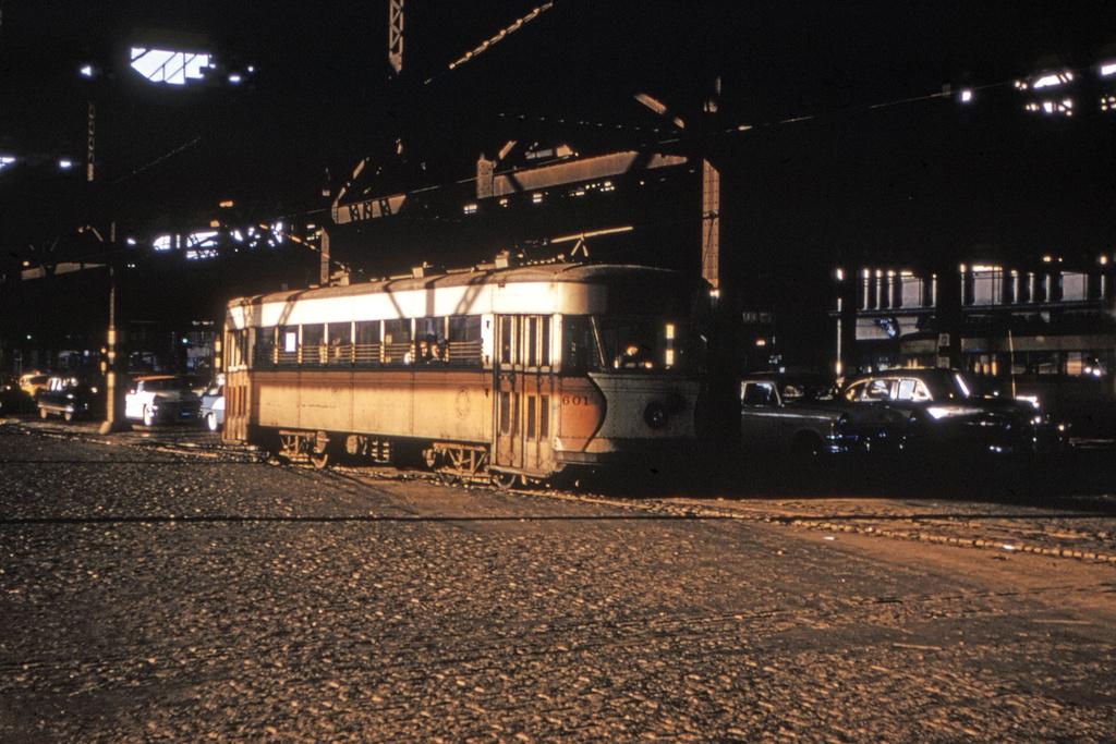 (290k, 1024x685)<br><b>Country:</b> United States<br><b>City:</b> New York<br><b>System:</b> Queensborough Bridge Railway<br><b>Location:</b> Queensborough Plaza <br><b>Car:</b>  601 <br><b>Collection of:</b> David Pirmann<br><b>Date:</b> 2/5/1955<br><b>Viewed (this week/total):</b> 1 / 2808