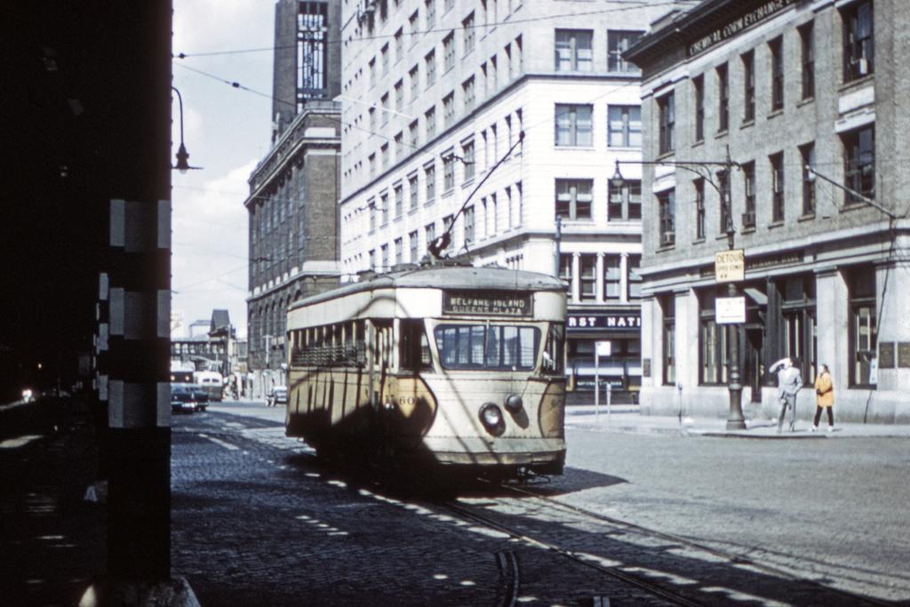 (276k, 1024x725)<br><b>Country:</b> United States<br><b>City:</b> New York<br><b>System:</b> Queensborough Bridge Railway<br><b>Location:</b> Queensborough Plaza <br><b>Car:</b>  601 <br><b>Collection of:</b> David Pirmann<br><b>Date:</b> 1956<br><b>Viewed (this week/total):</b> 4 / 3510