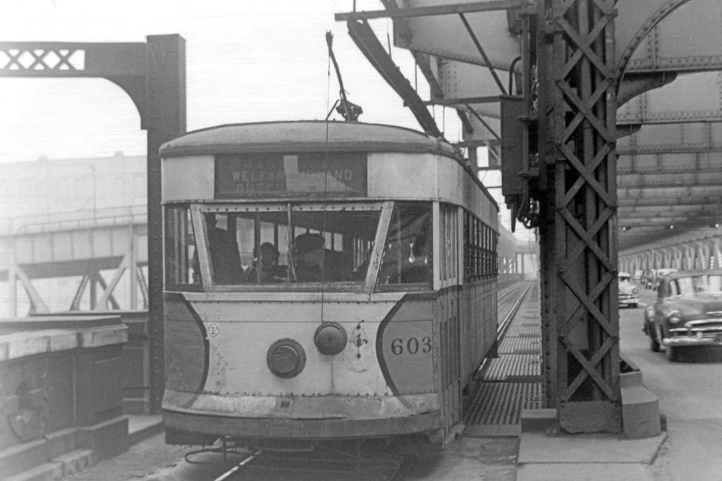 (147k, 1024x690)<br><b>Country:</b> United States<br><b>City:</b> New York<br><b>System:</b> Queensborough Bridge Railway<br><b>Location:</b> Queensborough Bridge <br><b>Car:</b>  603 <br><b>Collection of:</b> David Pirmann<br><b>Viewed (this week/total):</b> 2 / 1528
