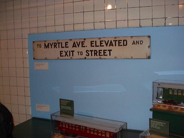 (68k, 640x480)<br><b>Country:</b> United States<br><b>City:</b> New York<br><b>System:</b> New York City Transit<br><b>Location:</b> New York Transit Museum<br><b>Photo by:</b> Bruce Fedow<br><b>Date:</b> 12/28/2005<br><b>Notes:</b> Signage collection at Transit Museum.<br><b>Viewed (this week/total):</b> 0 / 2134