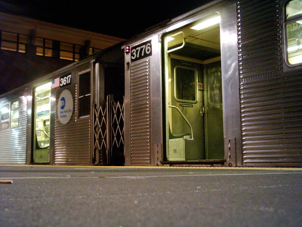 (134k, 1024x768)<br><b>Country:</b> United States<br><b>City:</b> New York<br><b>System:</b> New York City Transit<br><b>Location:</b> Coney Island/Stillwell Avenue<br><b>Car:</b> R-32 (Budd, 1964)  3617/3776 <br><b>Photo by:</b> Michael Hodurski<br><b>Date:</b> 12/16/2005<br><b>Notes:</b> Mismated R32 pair 3617/3776.<br><b>Viewed (this week/total):</b> 1 / 4543