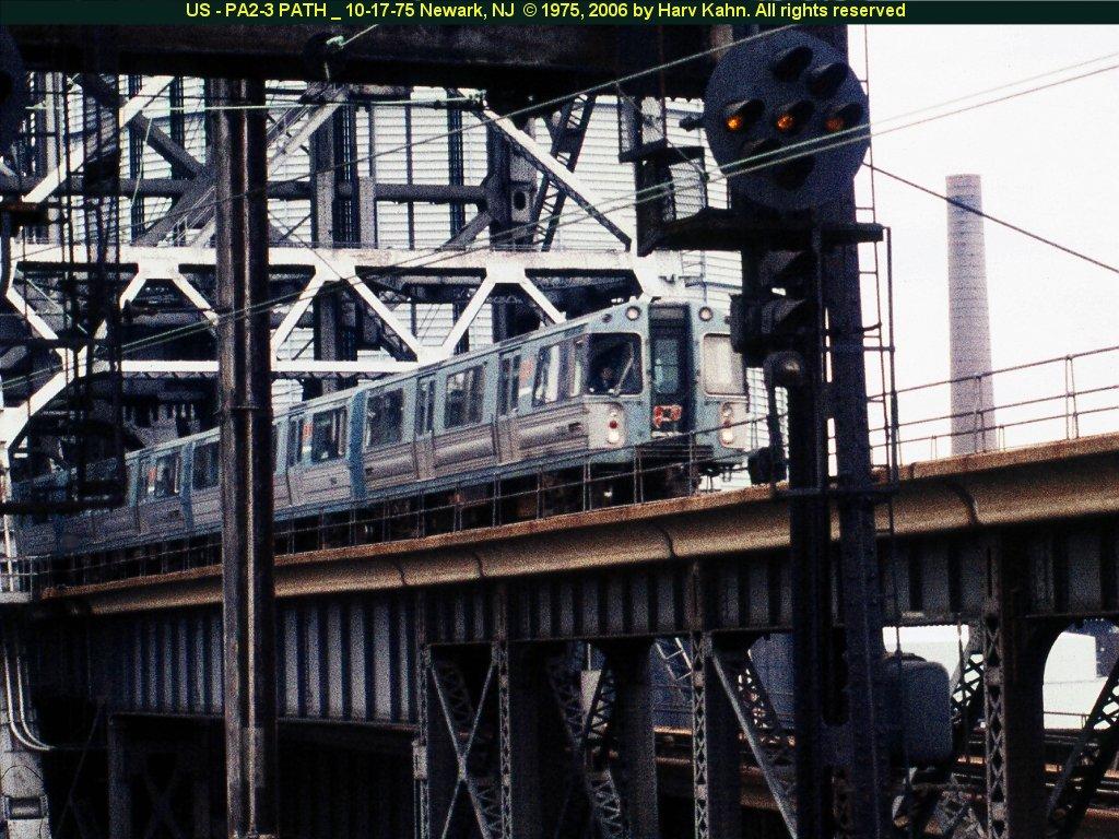(211k, 1024x768)<br><b>Country:</b> United States<br><b>City:</b> Newark, NJ<br><b>System:</b> PATH<br><b>Location:</b> Newark (Penn Station) <br><b>Car:</b> PATH PA  <br><b>Photo by:</b> Harv Kahn<br><b>Date:</b> 10/17/1975<br><b>Viewed (this week/total):</b> 2 / 4489