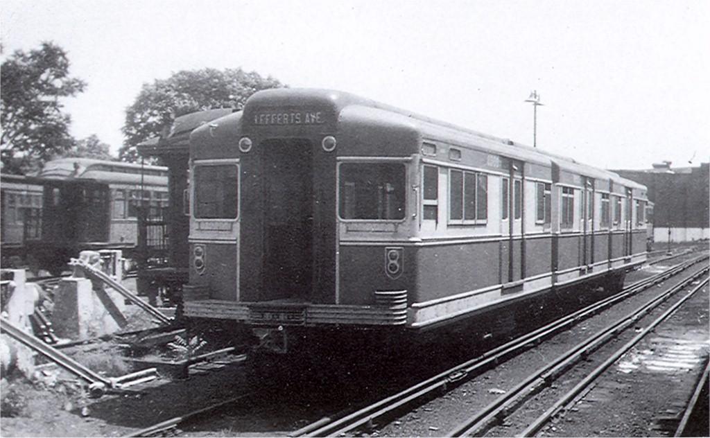 (165k, 1024x632)<br><b>Country:</b> United States<br><b>City:</b> New York<br><b>System:</b> New York City Transit<br><b>Location:</b> East New York Yard/Shops<br><b>Car:</b> BMT Bluebird 8000 <br><b>Collection of:</b> Joe Testagrose<br><b>Viewed (this week/total):</b> 1 / 2414