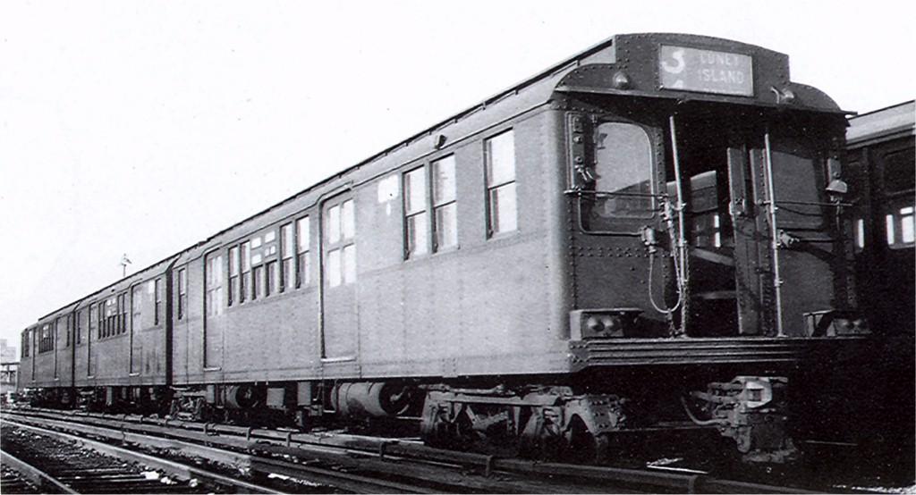 (139k, 1024x554)<br><b>Country:</b> United States<br><b>City:</b> New York<br><b>System:</b> New York City Transit<br><b>Location:</b> Coney Island Yard<br><b>Car:</b> BMT D-Type Triplex 6008 <br><b>Photo by:</b> Ed Watson/Arthur Lonto Collection<br><b>Collection of:</b> Joe Testagrose<br><b>Date:</b> 1956<br><b>Viewed (this week/total):</b> 5 / 2101
