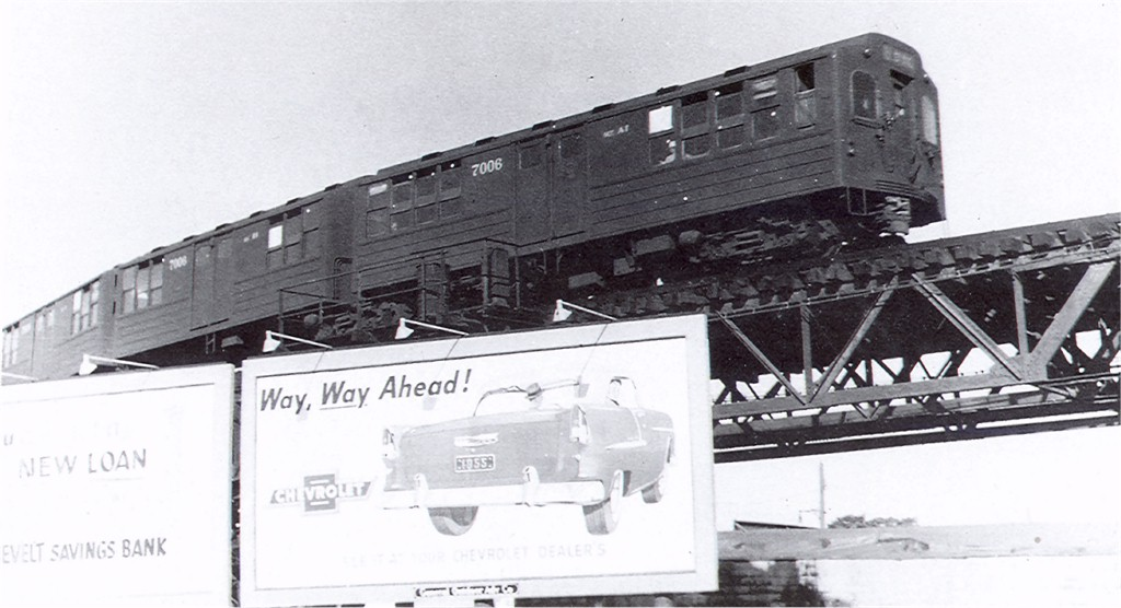 (130k, 1024x556)<br><b>Country:</b> United States<br><b>City:</b> New York<br><b>System:</b> New York City Transit<br><b>Line:</b> BMT Fulton<br><b>Location:</b> Liberty & Euclid <br><b>Car:</b> BMT Multi 7006 <br><b>Photo by:</b> Greg Gill Collection<br><b>Collection of:</b> Joe Testagrose<br><b>Viewed (this week/total):</b> 4 / 3439