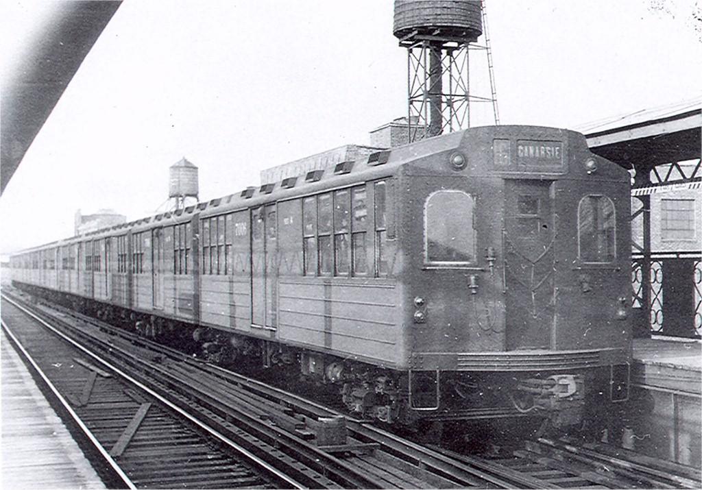 (210k, 1024x715)<br><b>Country:</b> United States<br><b>City:</b> New York<br><b>System:</b> New York City Transit<br><b>Line:</b> BMT Canarsie Line<br><b>Location:</b> Sutter Avenue <br><b>Car:</b> BMT Multi 7006 <br><b>Collection of:</b> Joe Testagrose<br><b>Viewed (this week/total):</b> 0 / 2432