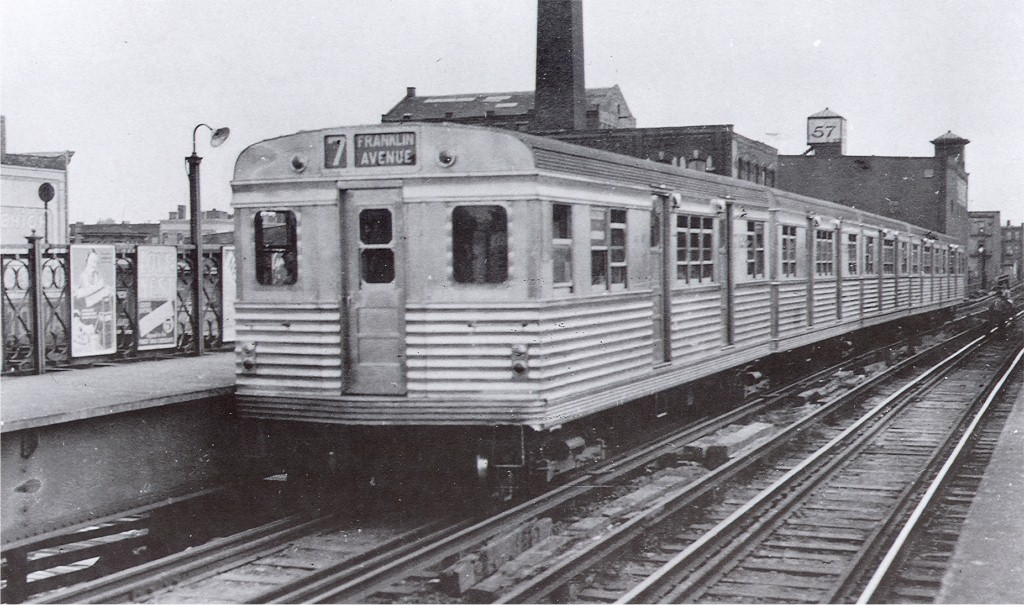 (188k, 1024x605)<br><b>Country:</b> United States<br><b>City:</b> New York<br><b>System:</b> New York City Transit<br><b>Line:</b> BMT Franklin<br><b>Location:</b> Dean Street <br><b>Car:</b> BMT Zephyr 7029 <br><b>Photo by:</b> George Votava<br><b>Collection of:</b> Joe Testagrose<br><b>Date:</b> 1939<br><b>Viewed (this week/total):</b> 4 / 4591