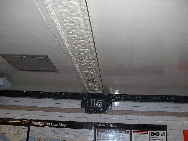 (79k, 640x480)<br><b>Country:</b> United States<br><b>City:</b> New York<br><b>System:</b> New York City Transit<br><b>Line:</b> IRT Lenox Line<br><b>Location:</b> 116th Street <br><b>Photo by:</b> Bruce Fedow<br><b>Date:</b> 1/19/2006<br><b>Viewed (this week/total):</b> 3 / 2283