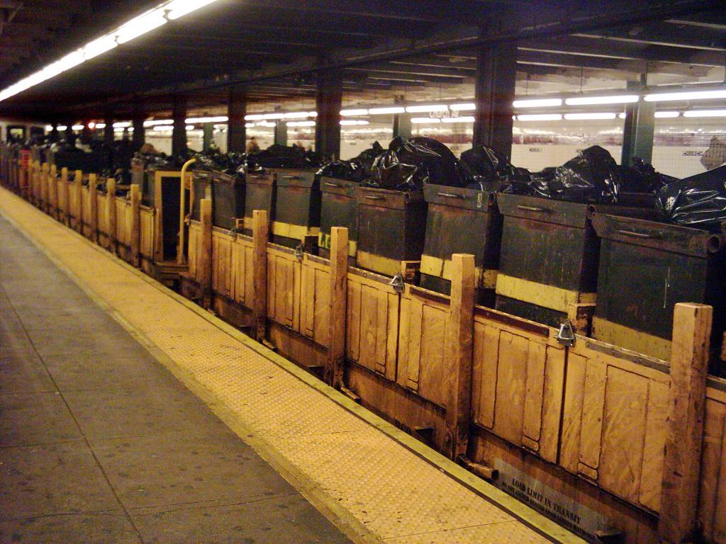 (397k, 1024x768)<br><b>Country:</b> United States<br><b>City:</b> New York<br><b>System:</b> New York City Transit<br><b>Line:</b> IND Crosstown Line<br><b>Location:</b> Church Avenue <br><b>Route:</b> Work Service<br><b>Car:</b> R-58 Refuse Collector Flat (Fuji, 1956)   <br><b>Photo by:</b> Michael Hodurski<br><b>Date:</b> 1/16/2006<br><b>Viewed (this week/total):</b> 0 / 3578