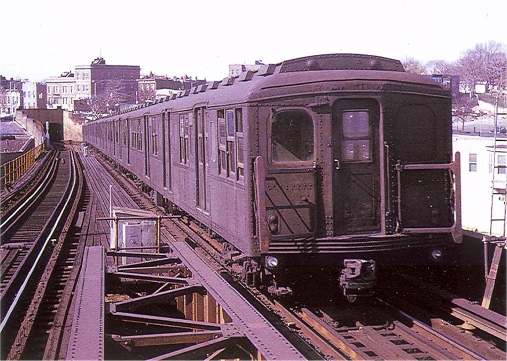 (237k, 1024x730)<br><b>Country:</b> United States<br><b>City:</b> New York<br><b>System:</b> New York City Transit<br><b>Line:</b> BMT Canarsie Line<br><b>Location:</b> Broadway Junction <br><b>Car:</b> BMT A/B-Type Standard  <br><b>Photo by:</b> Doug Grotjahn<br><b>Collection of:</b> Joe Testagrose<br><b>Date:</b> 1969<br><b>Viewed (this week/total):</b> 3 / 2478