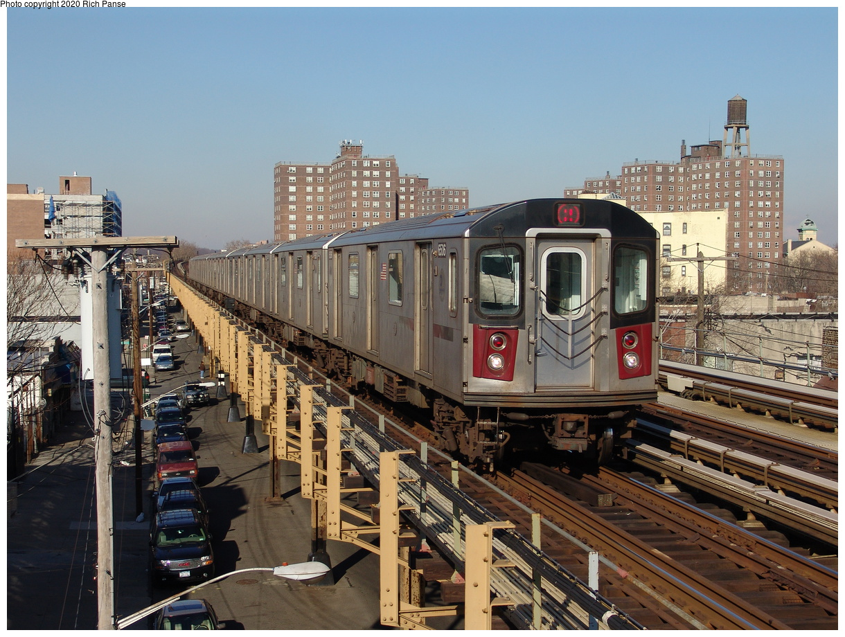 (286k, 1044x788)<br><b>Country:</b> United States<br><b>City:</b> New York<br><b>System:</b> New York City Transit<br><b>Line:</b> IRT White Plains Road Line<br><b>Location:</b> Burke Avenue <br><b>Route:</b> 2<br><b>Car:</b> R-142 (Primary Order, Bombardier, 1999-2002)  6506 <br><b>Photo by:</b> Richard Panse<br><b>Date:</b> 1/24/2006<br><b>Viewed (this week/total):</b> 0 / 4458
