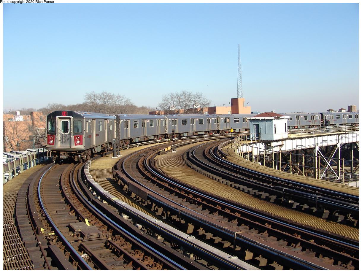 (285k, 1044x788)<br><b>Country:</b> United States<br><b>City:</b> New York<br><b>System:</b> New York City Transit<br><b>Line:</b> IRT White Plains Road Line<br><b>Location:</b> West Farms Sq./East Tremont Ave./177th St. <br><b>Route:</b> 2<br><b>Car:</b> R-142 (Primary Order, Bombardier, 1999-2002)  6805 <br><b>Photo by:</b> Richard Panse<br><b>Date:</b> 1/24/2006<br><b>Viewed (this week/total):</b> 0 / 4125