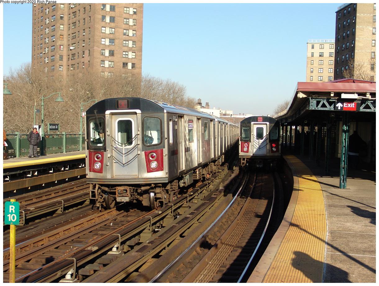 (307k, 1044x788)<br><b>Country:</b> United States<br><b>City:</b> New York<br><b>System:</b> New York City Transit<br><b>Line:</b> IRT White Plains Road Line<br><b>Location:</b> Jackson Avenue <br><b>Route:</b> 2<br><b>Car:</b> R-142 (Primary Order, Bombardier, 1999-2002)  6840 <br><b>Photo by:</b> Richard Panse<br><b>Date:</b> 1/24/2006<br><b>Viewed (this week/total):</b> 3 / 4222