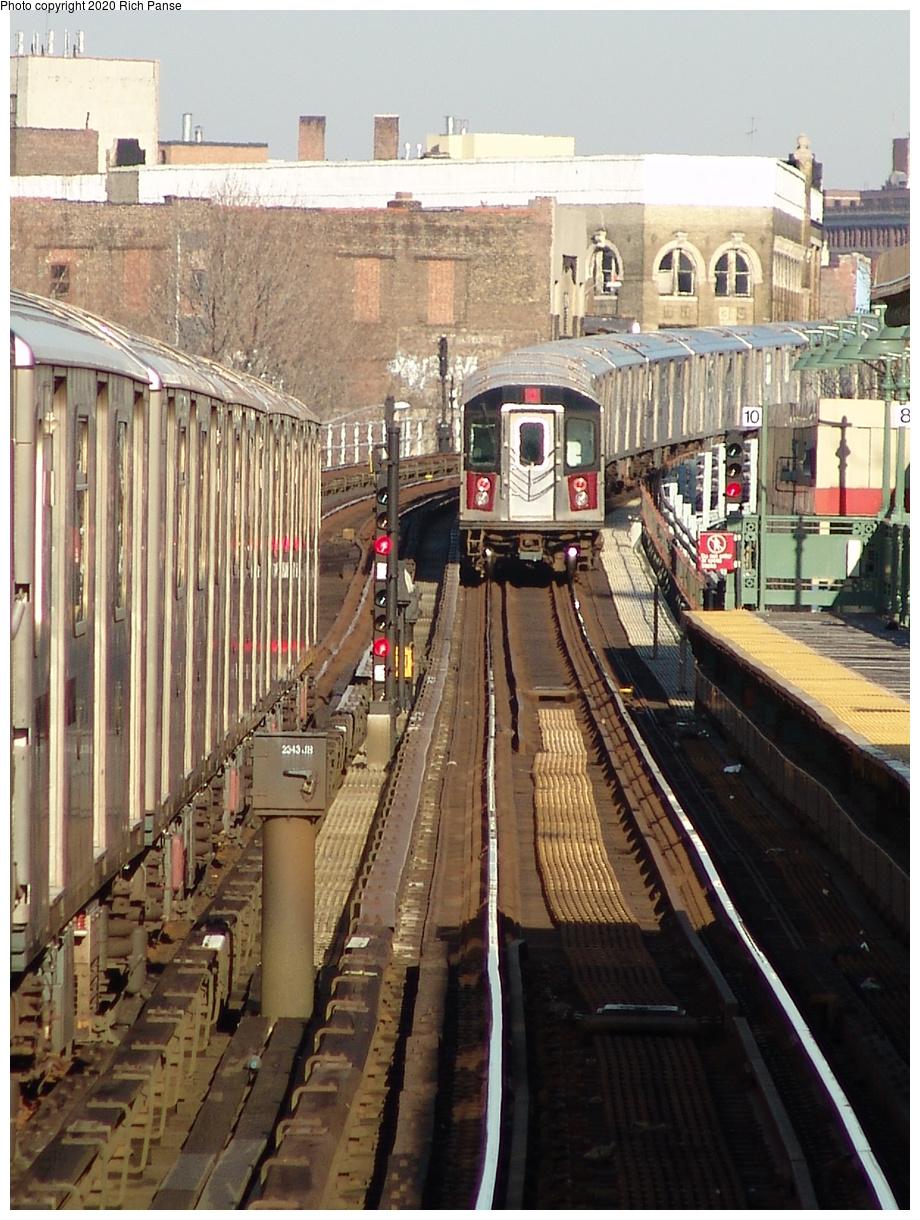 (276k, 788x1044)<br><b>Country:</b> United States<br><b>City:</b> New York<br><b>System:</b> New York City Transit<br><b>Line:</b> IRT White Plains Road Line<br><b>Location:</b> Jackson Avenue <br><b>Route:</b> 2<br><b>Car:</b> R-142 or R-142A (Number Unknown)  <br><b>Photo by:</b> Richard Panse<br><b>Date:</b> 1/24/2006<br><b>Viewed (this week/total):</b> 1 / 4001