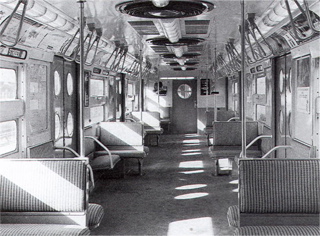 (228k, 1024x756)<br><b>Country:</b> United States<br><b>City:</b> New York<br><b>System:</b> New York City Transit<br><b>Car:</b> R-11 (Budd, 1949) Interior <br><b>Collection of:</b> Joe Testagrose<br><b>Viewed (this week/total):</b> 0 / 2585