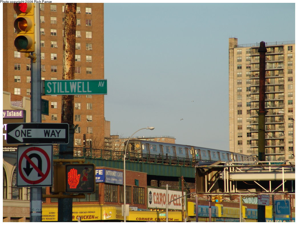 (206k, 1044x788)<br><b>Country:</b> United States<br><b>City:</b> New York<br><b>System:</b> New York City Transit<br><b>Location:</b> Coney Island/Stillwell Avenue<br><b>Route:</b> Q<br><b>Car:</b> R-68A (Kawasaki, 1988-1989)  5044 <br><b>Photo by:</b> Richard Panse<br><b>Date:</b> 2/25/2006<br><b>Viewed (this week/total):</b> 1 / 3749