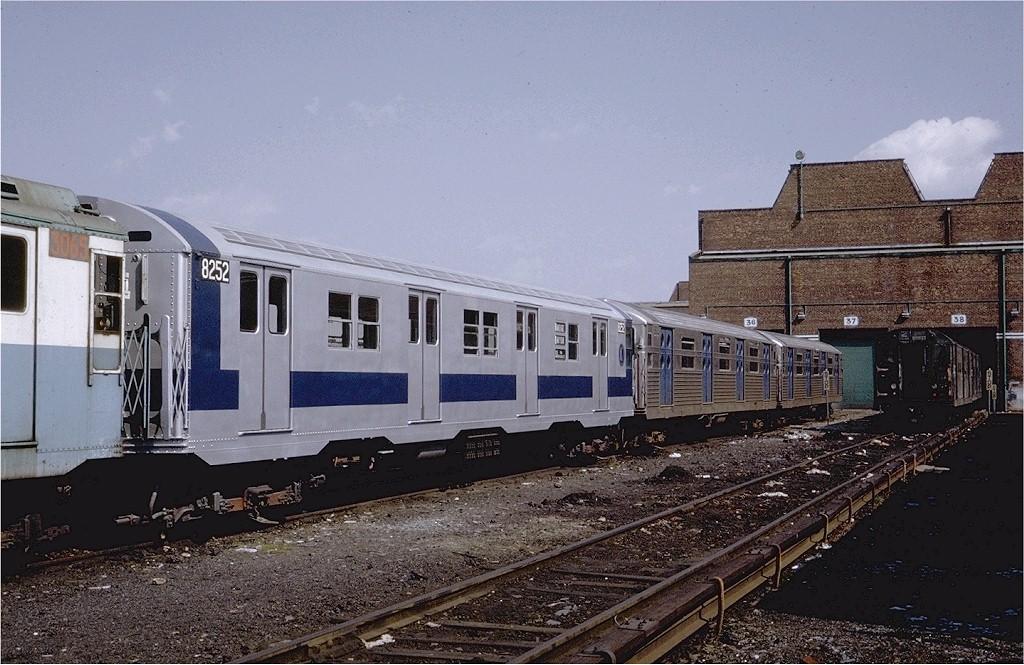 (213k, 1024x665)<br><b>Country:</b> United States<br><b>City:</b> New York<br><b>System:</b> New York City Transit<br><b>Location:</b> Coney Island Yard<br><b>Car:</b> R-30 (St. Louis, 1961) 8252 <br><b>Photo by:</b> Steve Zabel<br><b>Collection of:</b> Joe Testagrose<br><b>Date:</b> 5/25/1971<br><b>Viewed (this week/total):</b> 0 / 1990