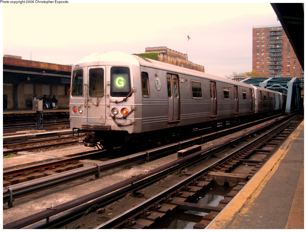 (199k, 1044x788)<br><b>Country:</b> United States<br><b>City:</b> New York<br><b>System:</b> New York City Transit<br><b>Line:</b> IND Crosstown Line<br><b>Location:</b> 4th Avenue <br><b>Route:</b> G<br><b>Car:</b> R-46 (Pullman-Standard, 1974-75) 5740 <br><b>Photo by:</b> Christopher Esposito<br><b>Date:</b> 5/6/2005<br><b>Viewed (this week/total):</b> 6 / 2682