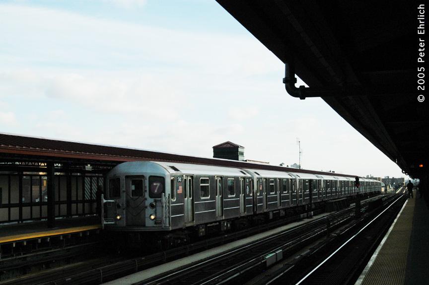 (145k, 864x574)<br><b>Country:</b> United States<br><b>City:</b> New York<br><b>System:</b> New York City Transit<br><b>Line:</b> IRT Flushing Line<br><b>Location:</b> 74th Street/Broadway <br><b>Route:</b> 7<br><b>Car:</b> R-62A (Bombardier, 1984-1987)  1740 <br><b>Photo by:</b> Peter Ehrlich<br><b>Date:</b> 12/30/2005<br><b>Viewed (this week/total):</b> 2 / 1781