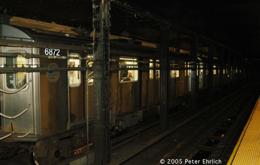 (167k, 864x548)<br><b>Country:</b> United States<br><b>City:</b> New York<br><b>System:</b> New York City Transit<br><b>Line:</b> IRT Brooklyn Line<br><b>Location:</b> Atlantic Avenue <br><b>Route:</b> 5<br><b>Car:</b> R-142 (Primary Order, Bombardier, 1999-2002)  6872 <br><b>Photo by:</b> Peter Ehrlich<br><b>Date:</b> 12/30/2005<br><b>Viewed (this week/total):</b> 1 / 5274