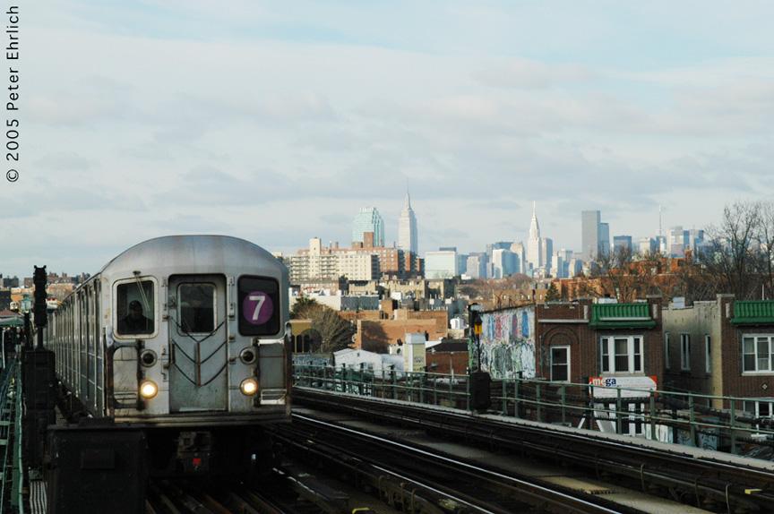 (170k, 864x574)<br><b>Country:</b> United States<br><b>City:</b> New York<br><b>System:</b> New York City Transit<br><b>Line:</b> IRT Flushing Line<br><b>Location:</b> 74th Street/Broadway <br><b>Route:</b> 7<br><b>Car:</b> R-62A (Bombardier, 1984-1987)   <br><b>Photo by:</b> Peter Ehrlich<br><b>Date:</b> 12/30/2005<br><b>Viewed (this week/total):</b> 1 / 2166