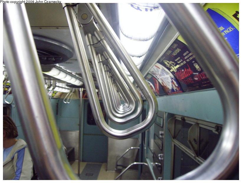 (118k, 820x620)<br><b>Country:</b> United States<br><b>City:</b> New York<br><b>System:</b> New York City Transit<br><b>Location:</b> New York Transit Museum<br><b>Car:</b> R-33 World's Fair (St. Louis, 1963-64) 9306 <br><b>Photo by:</b> John Czarnecky<br><b>Date:</b> 2/28/2006<br><b>Viewed (this week/total):</b> 6 / 2976