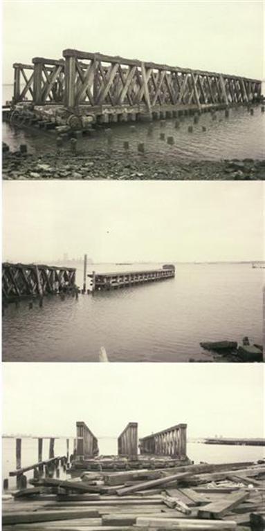 (36k, 383x768)<br><b>Country:</b> United States<br><b>City:</b> New York<br><b>System:</b> New York City Transit<br><b>Line:</b> SIRT<br><b>Location:</b> St. George <br><b>Photo by:</b> S. Phetterplace<br><b>Date:</b> 12/23/1993<br><b>Notes:</b> Abandoned car float docks.<br><b>Viewed (this week/total):</b> 0 / 4818