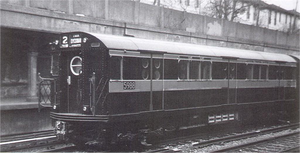 (150k, 1024x522)<br><b>Country:</b> United States<br><b>City:</b> New York<br><b>System:</b> New York City Transit<br><b>Line:</b> BMT Sea Beach Line<br><b>Location:</b> Bay Parkway (22nd Avenue) <br><b>Car:</b> R-15 (American Car & Foundry, 1950) 5988 <br><b>Collection of:</b> Joe Testagrose<br><b>Date:</b> 1/28/1950<br><b>Viewed (this week/total):</b> 0 / 3746
