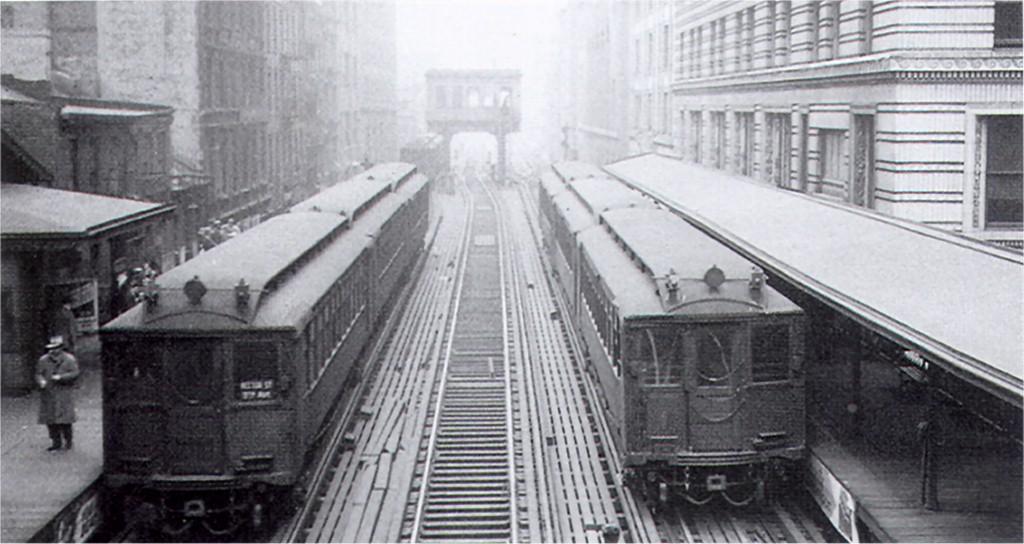 (143k, 1024x544)<br><b>Country:</b> United States<br><b>City:</b> New York<br><b>System:</b> New York City Transit<br><b>Line:</b> 9th Avenue El<br><b>Location:</b> Rector Street <br><b>Car:</b> MUDC  <br><b>Collection of:</b> Joe Testagrose<br><b>Date:</b> 3/25/1940<br><b>Viewed (this week/total):</b> 3 / 5784