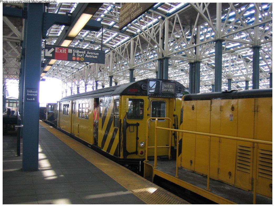 (203k, 1044x788)<br><b>Country:</b> United States<br><b>City:</b> New York<br><b>System:</b> New York City Transit<br><b>Location:</b> Coney Island/Stillwell Avenue<br><b>Route:</b> Work Service<br><b>Car:</b> R-161 Rider Car (ex-R-33)  RD419 (ex-9067)<br><b>Photo by:</b> Michael Hodurski<br><b>Date:</b> 3/10/2006<br><b>Viewed (this week/total):</b> 1 / 2975