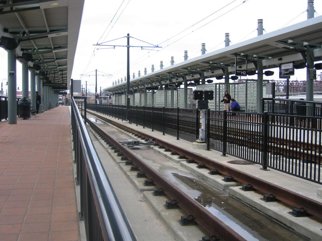 (134k, 1024x768)<br><b>Country:</b> United States<br><b>City:</b> Hoboken, NJ<br><b>System:</b> Hudson Bergen Light Rail<br><b>Location:</b> Hoboken <br><b>Photo by:</b> Jeremy Whiteman<br><b>Date:</b> 4/4/2006<br><b>Viewed (this week/total):</b> 0 / 1310
