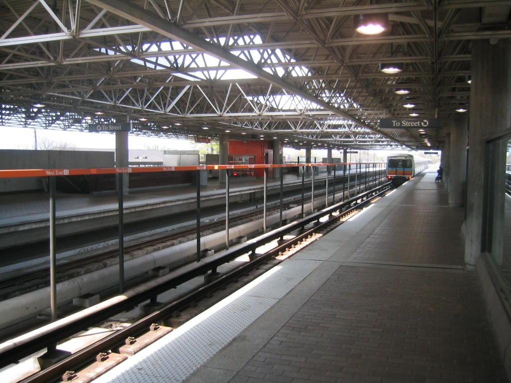 (137k, 1024x768)<br><b>Country:</b> United States<br><b>City:</b> Atlanta, GA<br><b>System:</b> MARTA<br><b>Line:</b> North-South Line <br><b>Location:</b> West End <br><b>Car:</b> MARTA CQ311  <br><b>Photo by:</b> Matthew Shull<br><b>Date:</b> 4/1/2006<br><b>Notes:</b> Northbound North Springs train departing West End<br><b>Viewed (this week/total):</b> 9 / 1582