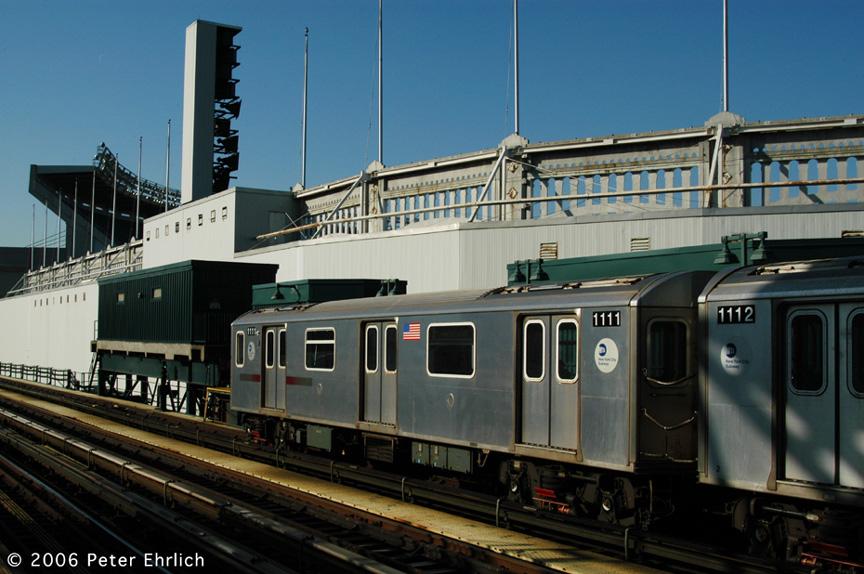 (196k, 864x574)<br><b>Country:</b> United States<br><b>City:</b> New York<br><b>System:</b> New York City Transit<br><b>Line:</b> IRT Woodlawn Line<br><b>Location:</b> 161st Street/River Avenue (Yankee Stadium) <br><b>Car:</b> R-142 (Option Order, Bombardier, 2002-2003)  1111 <br><b>Photo by:</b> Peter Ehrlich<br><b>Date:</b> 1/24/2006<br><b>Viewed (this week/total):</b> 1 / 3199