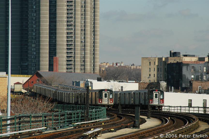 (220k, 864x574)<br><b>Country:</b> United States<br><b>City:</b> New York<br><b>System:</b> New York City Transit<br><b>Line:</b> IRT Woodlawn Line<br><b>Location:</b> Bedford Park Boulevard <br><b>Car:</b> R-142 (Option Order, Bombardier, 2002-2003)  1215 <br><b>Photo by:</b> Peter Ehrlich<br><b>Date:</b> 1/24/2006<br><b>Viewed (this week/total):</b> 0 / 2584