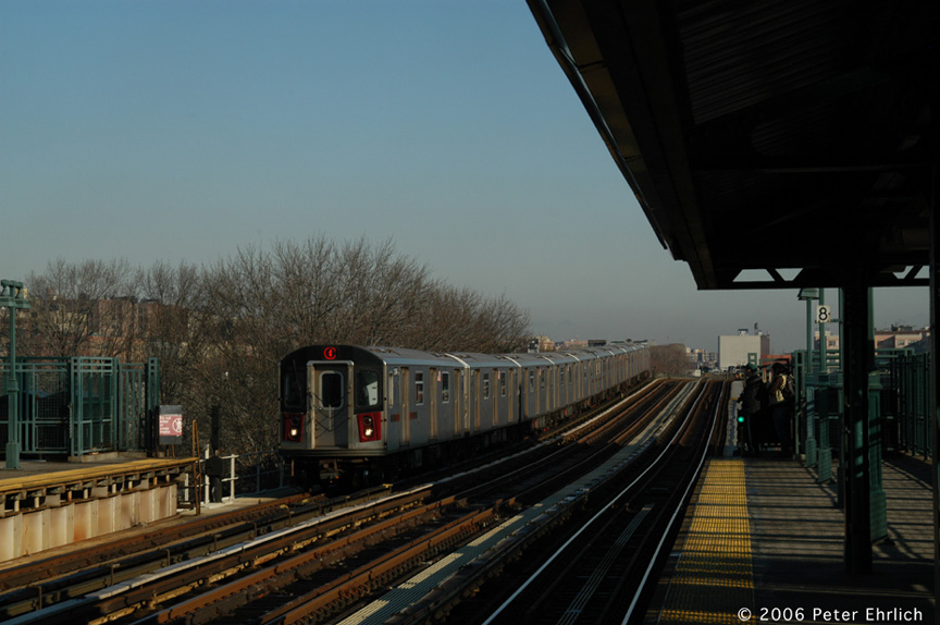 (159k, 864x574)<br><b>Country:</b> United States<br><b>City:</b> New York<br><b>System:</b> New York City Transit<br><b>Line:</b> IRT Woodlawn Line<br><b>Location:</b> 161st Street/River Avenue (Yankee Stadium) <br><b>Car:</b> R-142 (Option Order, Bombardier, 2002-2003)  1246 <br><b>Photo by:</b> Peter Ehrlich<br><b>Date:</b> 1/24/2006<br><b>Viewed (this week/total):</b> 1 / 3010