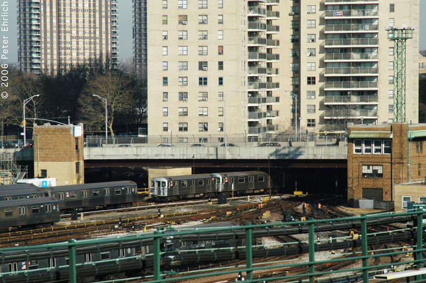 (286k, 864x574)<br><b>Country:</b> United States<br><b>City:</b> New York<br><b>System:</b> New York City Transit<br><b>Location:</b> Concourse Yard<br><b>Car:</b> R-62 (Kawasaki, 1983-1985)  1545 <br><b>Photo by:</b> Peter Ehrlich<br><b>Date:</b> 1/24/2006<br><b>Viewed (this week/total):</b> 0 / 3783