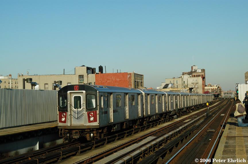 (173k, 864x574)<br><b>Country:</b> United States<br><b>City:</b> New York<br><b>System:</b> New York City Transit<br><b>Line:</b> IRT White Plains Road Line<br><b>Location:</b> Intervale Avenue <br><b>Car:</b> R-142 (Primary Order, Bombardier, 1999-2002)  6365 <br><b>Photo by:</b> Peter Ehrlich<br><b>Date:</b> 1/24/2006<br><b>Viewed (this week/total):</b> 0 / 3793