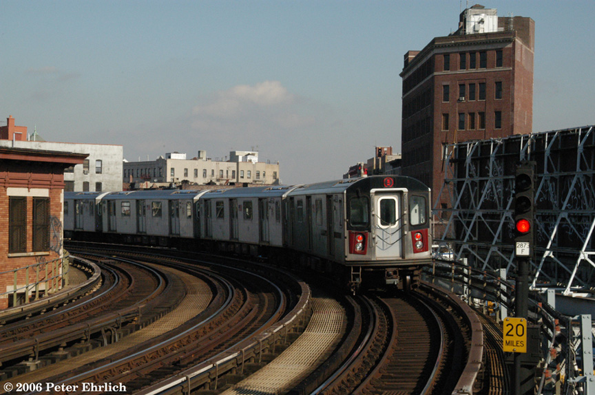 (211k, 864x574)<br><b>Country:</b> United States<br><b>City:</b> New York<br><b>System:</b> New York City Transit<br><b>Line:</b> IRT White Plains Road Line<br><b>Location:</b> Simpson Street <br><b>Car:</b> R-142 (Option Order, Bombardier, 2002-2003)  7030 <br><b>Photo by:</b> Peter Ehrlich<br><b>Date:</b> 1/24/2006<br><b>Viewed (this week/total):</b> 0 / 2862