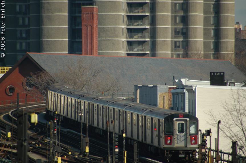(208k, 864x574)<br><b>Country:</b> United States<br><b>City:</b> New York<br><b>System:</b> New York City Transit<br><b>Line:</b> IRT Woodlawn Line<br><b>Location:</b> Bedford Park Boulevard <br><b>Car:</b> R-142 (Option Order, Bombardier, 2002-2003)  7125 <br><b>Photo by:</b> Peter Ehrlich<br><b>Date:</b> 1/24/2006<br><b>Viewed (this week/total):</b> 0 / 2424