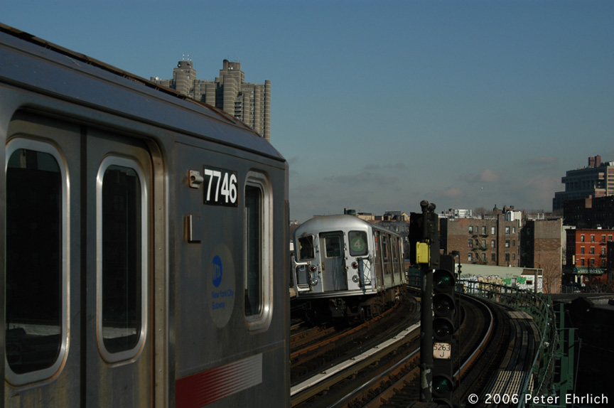 (139k, 864x574)<br><b>Country:</b> United States<br><b>City:</b> New York<br><b>System:</b> New York City Transit<br><b>Line:</b> IRT Woodlawn Line<br><b>Location:</b> Bedford Park Boulevard <br><b>Car:</b> R-142A (Supplemental Order, Kawasaki, 2003-2004)  7746 <br><b>Photo by:</b> Peter Ehrlich<br><b>Date:</b> 1/24/2006<br><b>Viewed (this week/total):</b> 0 / 4570
